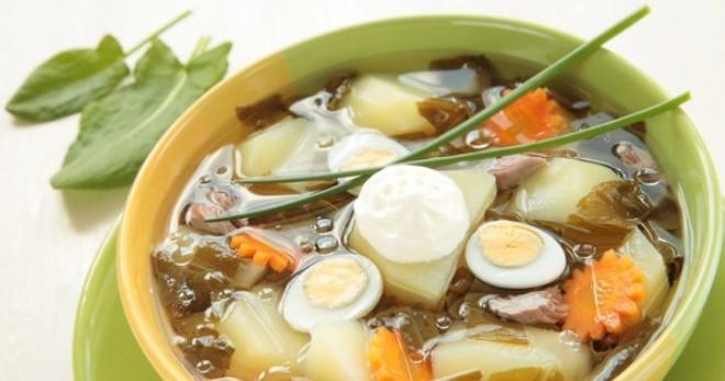 Щи из щавеля - лучшие рецепты вкусного легкого супа