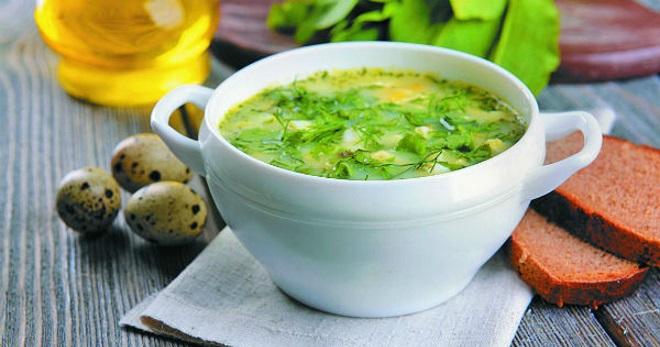Зеленые щи - вкусные рецепты легкого весеннего блюда