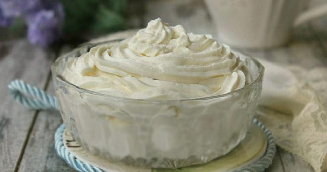 Крем для торта из мороженого рецепт