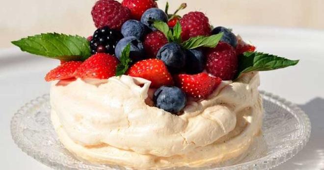 Десерты из безе рецепты пошагово