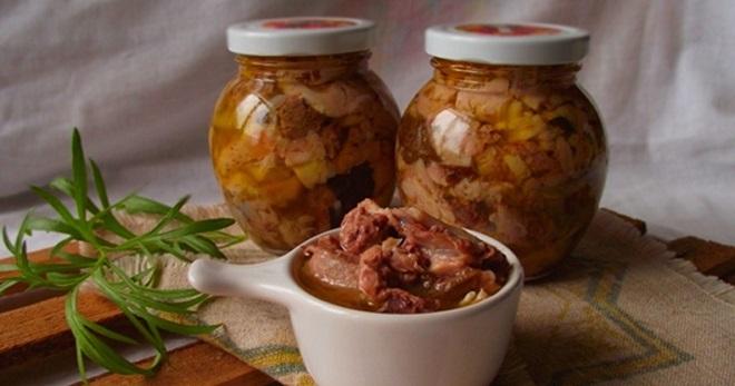 рецепты тушенки из свинины в кастрюле