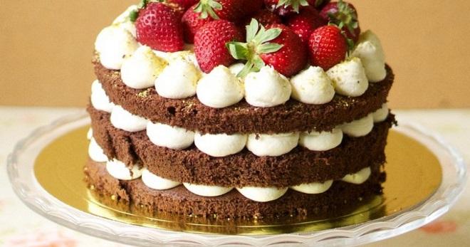 Рецепт вкусный торт украшенный глазурью
