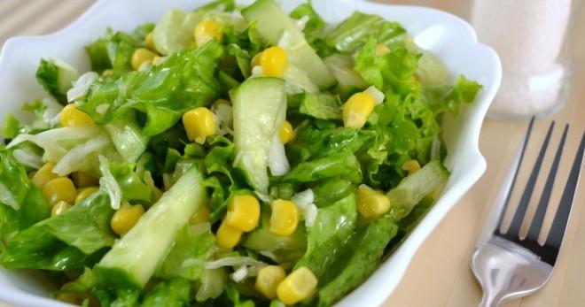 Рецепт салата из овощей с майонезом
