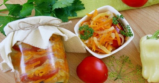 Оригинальные рецепты салатов на зиму