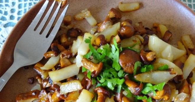 Картошка с лисичками - лучшие идеи приготовления вкусных и оригинальных блюд