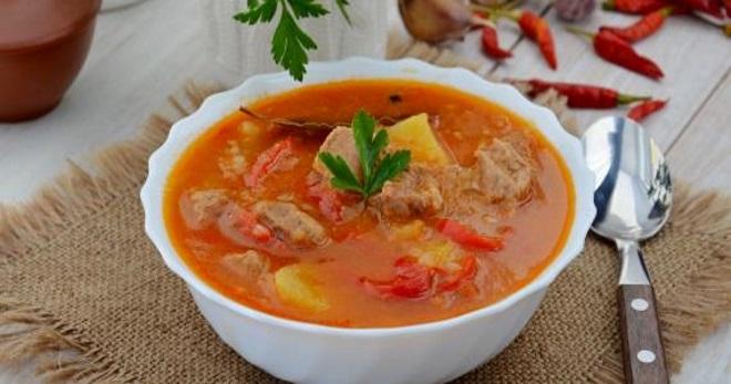 Суп-гуляш - классические и оригинальные версии знаменитого блюда