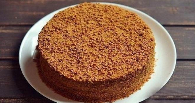 Рецепты приготовления торт рыжик
