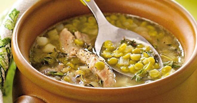 Гороховый суп - рецепты вкусного и питательного блюда для всей семьи