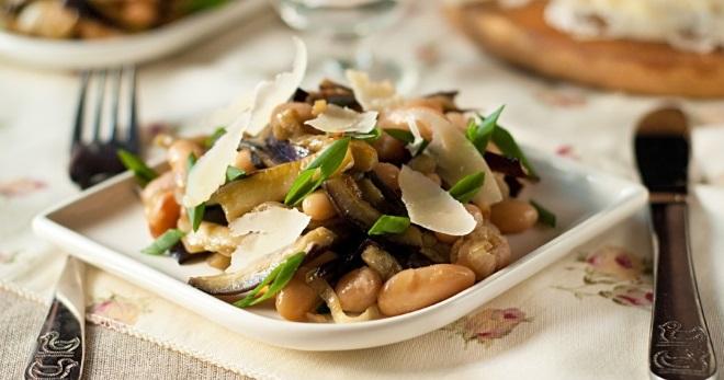 Салат с фасолью к праздничному столу - вкусные рецепты и идеи украшения закуски