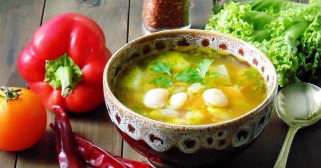 Суп без мяса - вкусные рецепты простого постного блюда на каждый день