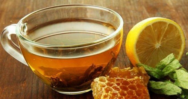 цуприк чай с медом
