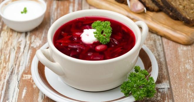 Свекольник - рецепт вкусного горячего и холодного первого блюда