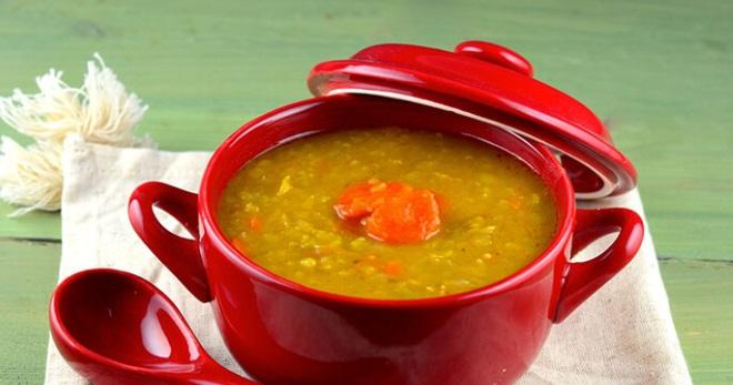 Гороховый суп без мяса - вкусные постные или вегетарианские рецепты сытного блюда