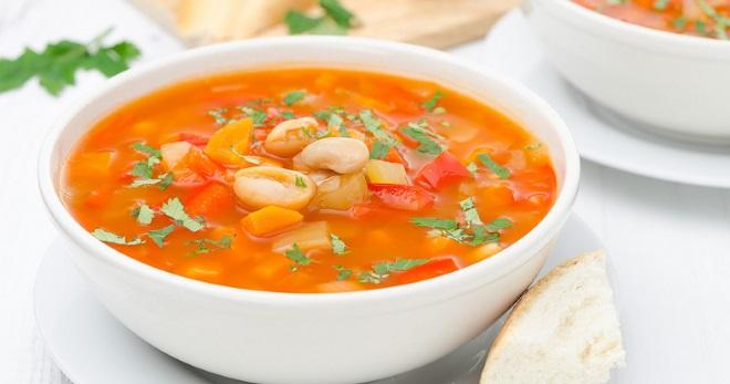 Постный суп с фасолью - оригинальные рецепты вкусного и насыщенного первого блюда