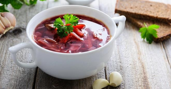 Постный борщ - самые вкусные рецепты первого блюда на овощном бульоне