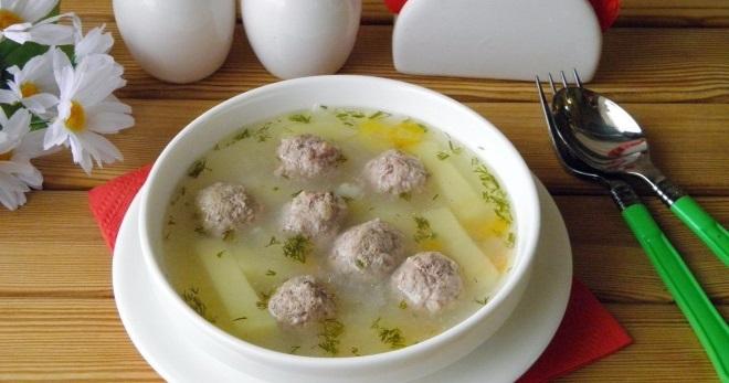Картофельный суп с фрикадельками - простые и вкусные рецепты сытного первого блюда