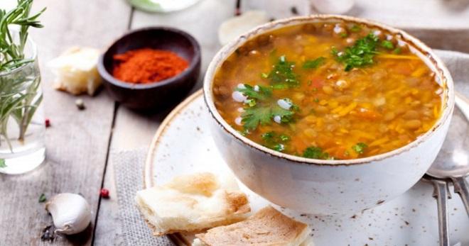 Суп из чечевицы просто и вкусно - рецепты приготовления отменного первого блюда