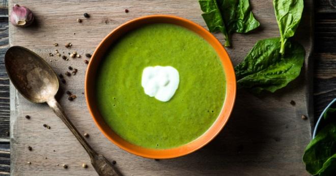 Суп со шпинатом - вкуснейшие и очень полезные рецепты легкого блюда