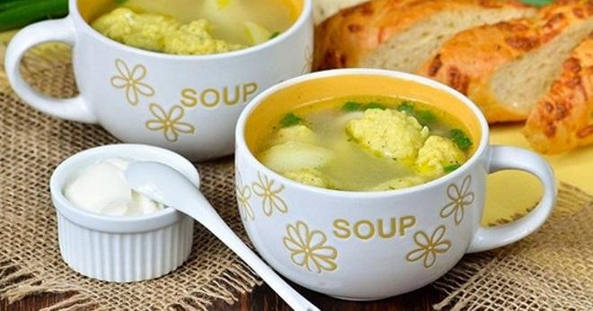 Суп с галушками - лучшие рецепты вкуснейшего первого блюда