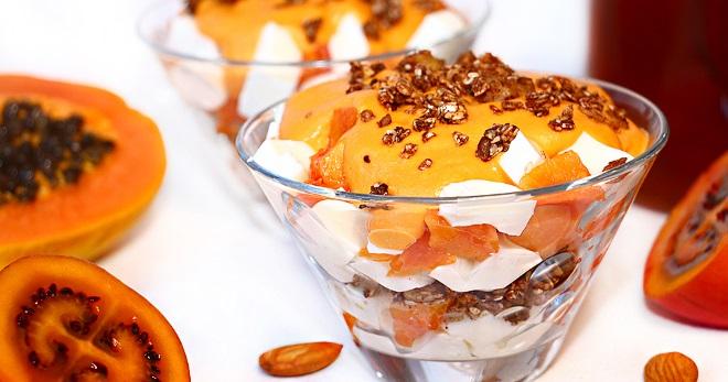 Десерты с папайей - необыкновенно вкусные лакомства с простыми рецептами!