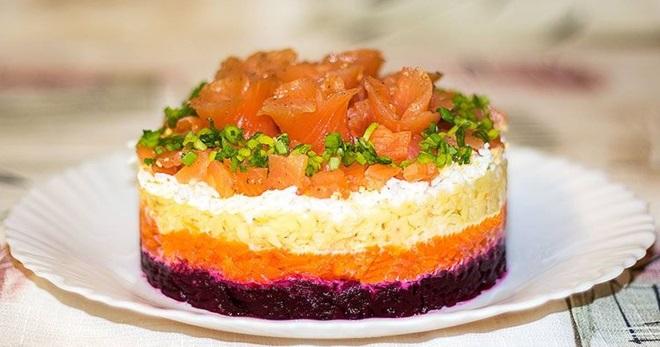 Салат «Королевский» - восхитительная праздничная закуска с простыми ингредиентами