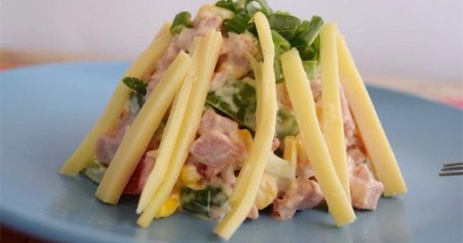 Салат «Фантазия» - бесподобная закуска с простыми и понятными рецептами