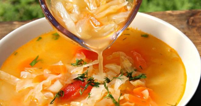 Суп из квашеной капусты – известные и новые рецепты вкусного и сытного блюда