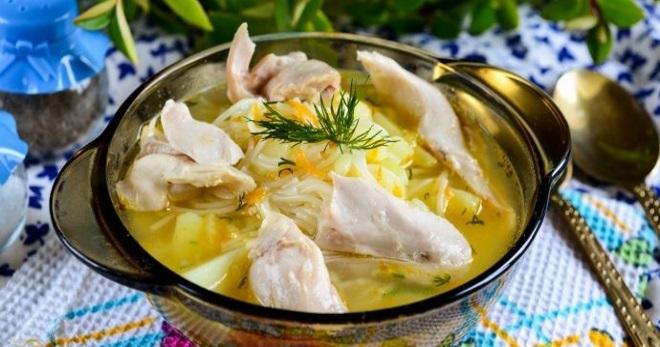 Куриный суп – простые рецепты вкусного, легкого, но сытного блюда