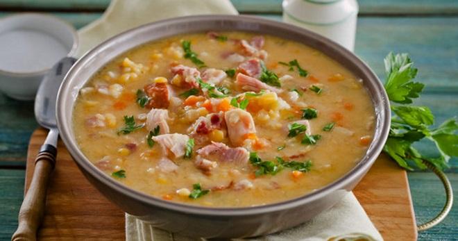 Гороховый суп с курицей - оригинальные варианты вкусного известного блюда