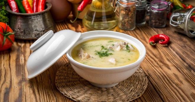 Сырный суп с курицей - вкусное, питательное и очень ароматное блюдо на каждый день