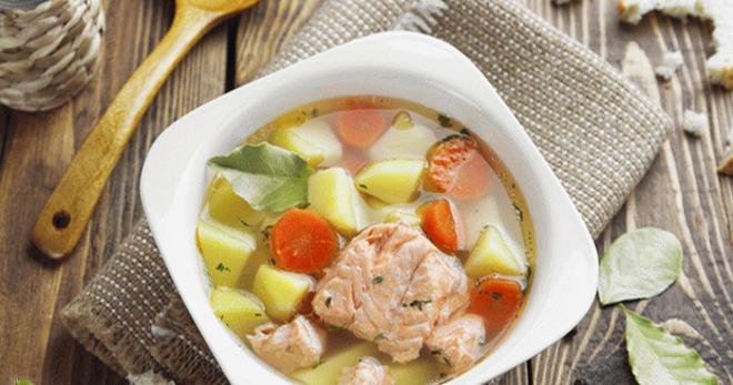 Суп из замороженной горбуши – вкусное первое блюдо с оригинальными рецептами