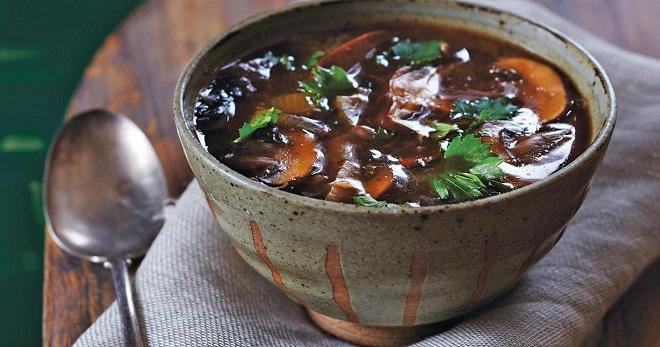 Суп из замороженных грибов - вкусные рецепты блюда на каждый день
