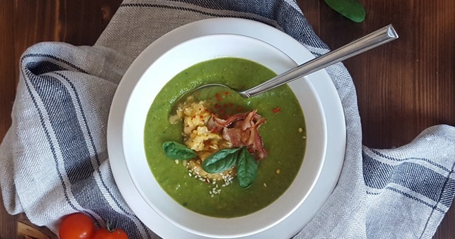 Суп из замороженного шпината – очень вкусные рецепты полезного блюда