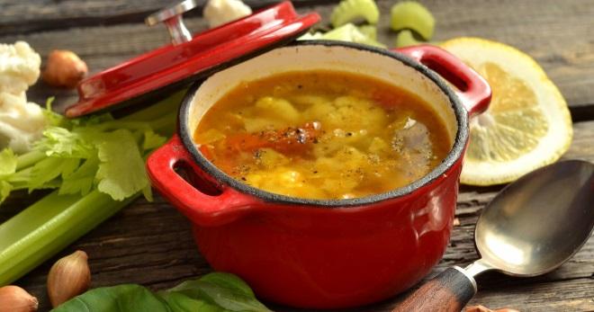 Суп из сельдерея – вкусное блюдо для диеты и не только!