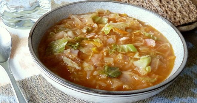 Постные щи из свежей капусты - очень вкусные рецепты сытного блюда