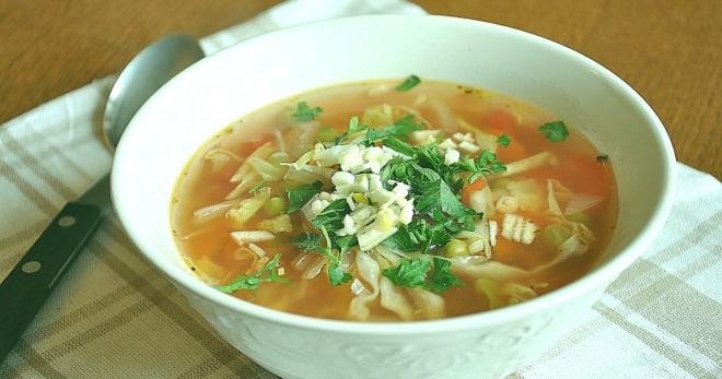 Постные щи из квашеной капусты - классические и новые рецепты сытного супа