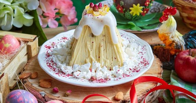 Царская творожная пасха - необыкновенно вкусное угощение для праздничного стола
