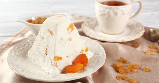 Царская пасха – необыкновенный десерт с простыми рецептами