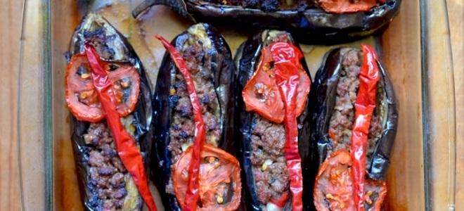Баклажаны по-турецки в духовке