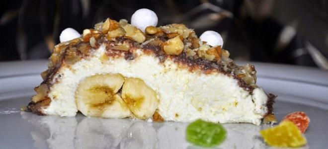 банан под шубой вкусный и простой десерт