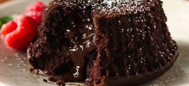 Торт брауни рецепт с пошагово в домашних условиях с жидкой начинкой