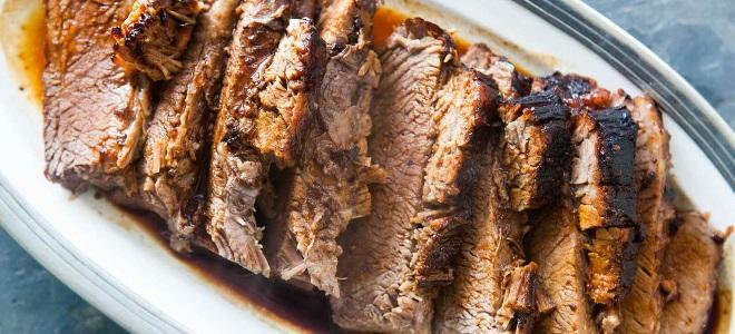 Буженина из говядины в фольге в духовке