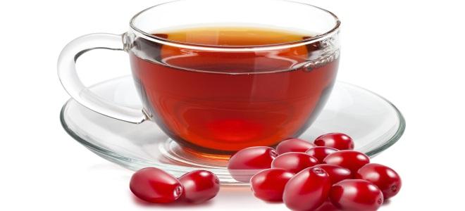 чай с кизилом