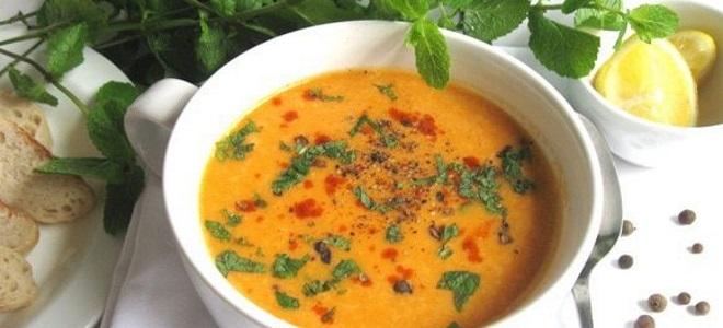 чечевичный суп по турецки рецепт
