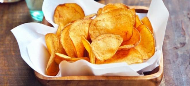 Как сделать вкусные чипсы в домашних условиях