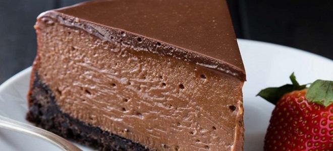 чизкейк шоколадное безумие