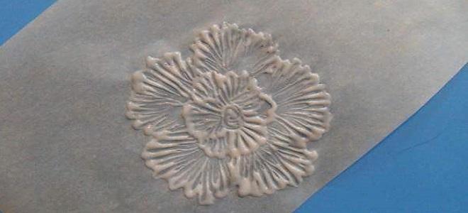 Цветы из айсинга