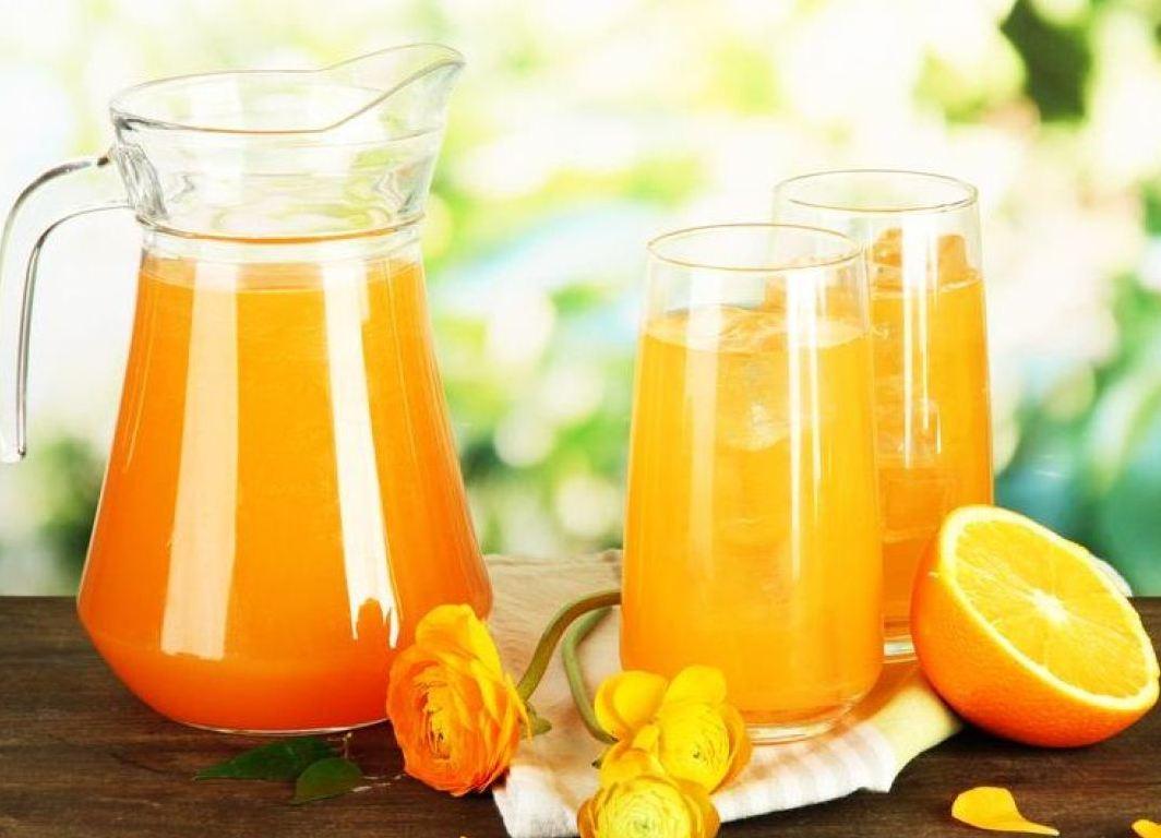 Сок из апельсинов и лимонов в домашних условиях