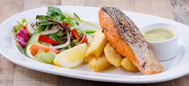 рецепты стейков из рыбы в духовке