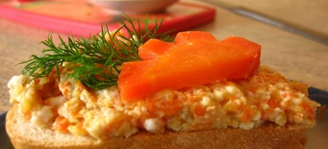 Форшмак из сельди классический с морковью и